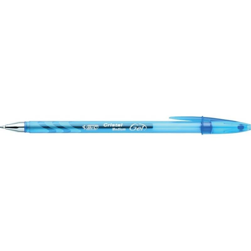 BIC - Esferográfica CRISTAL GEL, preto ou azul