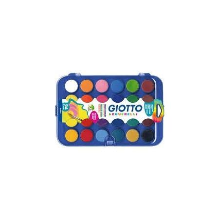 Giotto - Águarelas 12 cores (sortido)
