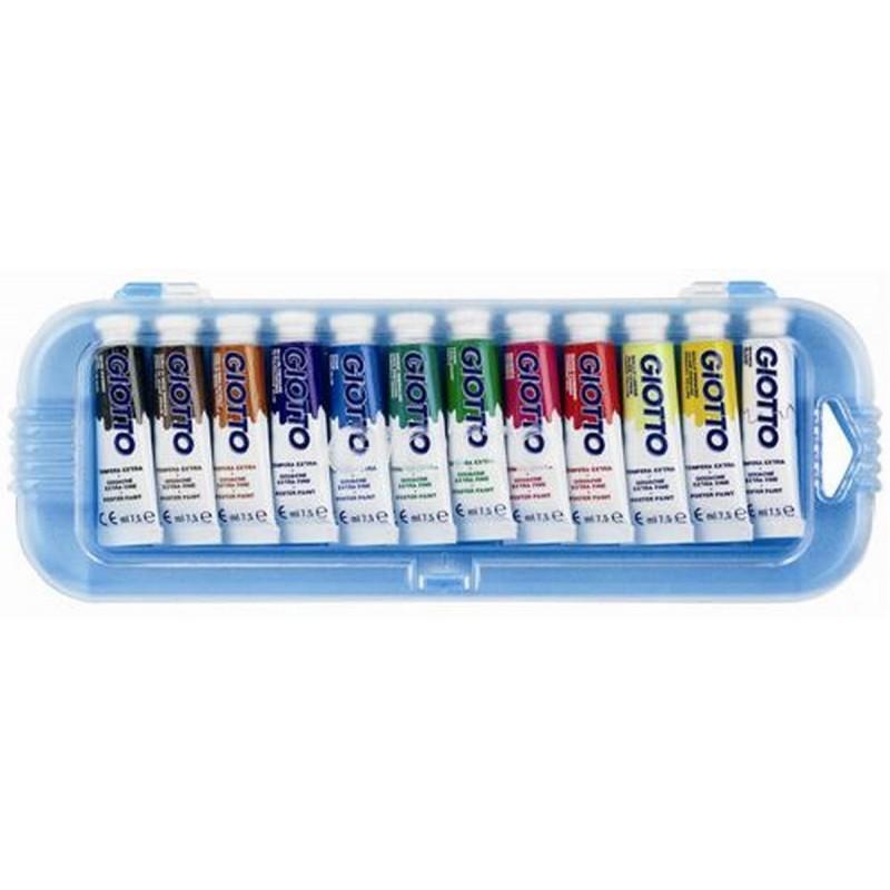 Giotto - Guaches 5 cores (contém primárias) - Extra Fino 5x7,5ml