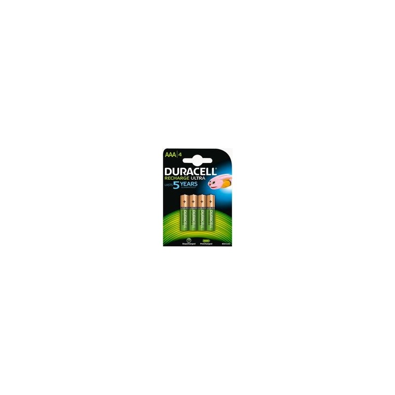 DURACELL Pack 4 Pilhas Alcalinas AA 1.5v (+40% energia)