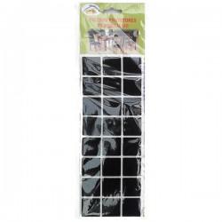 LARMIL Pack 24 feltros protetores de mobiliário (quadrados)