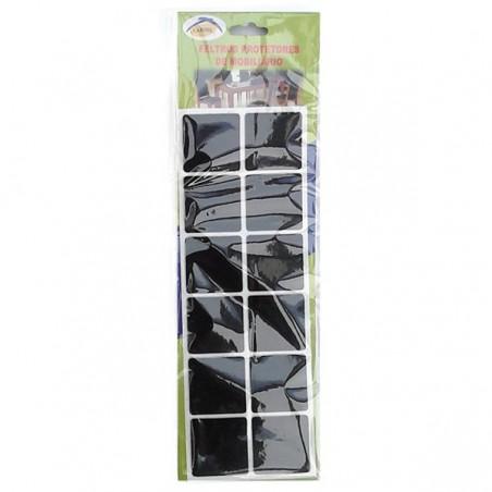 LARMIL Pack 12 feltros protetores de mobiliário (quadrados)