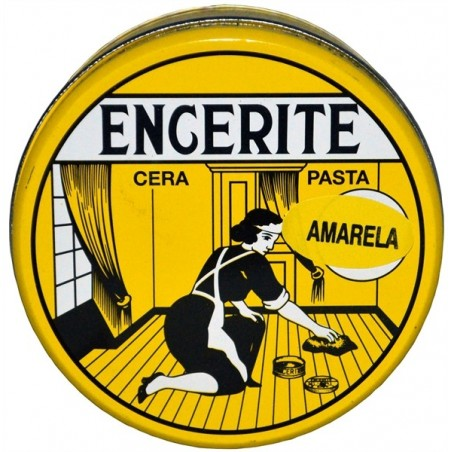 Encerite - Cera Pasta AMARELA (lata) 250gr