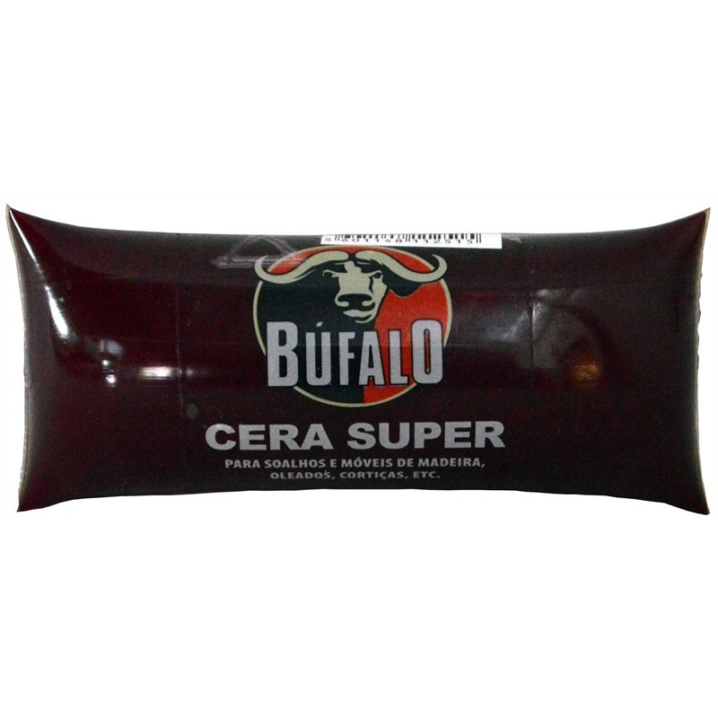 Búfalo - Cera Pasta CASTANHA (bolsa) 250gr
