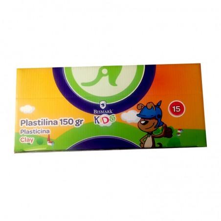 BISMARK Kids - 15 barras plasticina/ 150g
