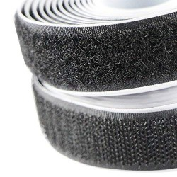 Cose - Velcro Adhesive M / F (1mt x 20mm) black or white