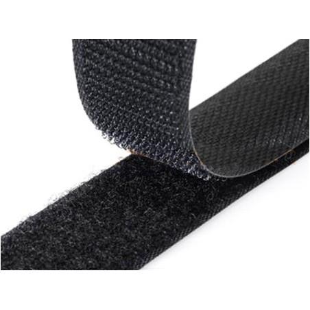 Cose - Velcro p/ coser Preto M/F (1mt x 20mm)