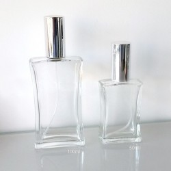 Frasco Perfume c/ Bomba Spray e Tampa 50ml