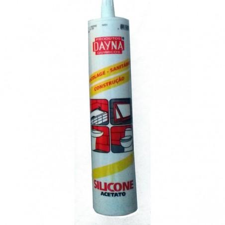 Silicone/ Acetato (Dayna) 280ml/ branco