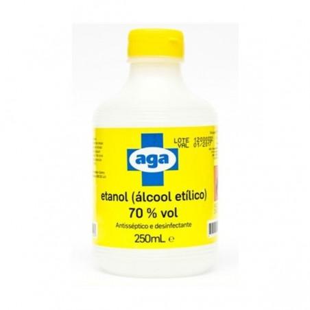AGA - Álcool Etílico/ Etanol 70% 250ml
