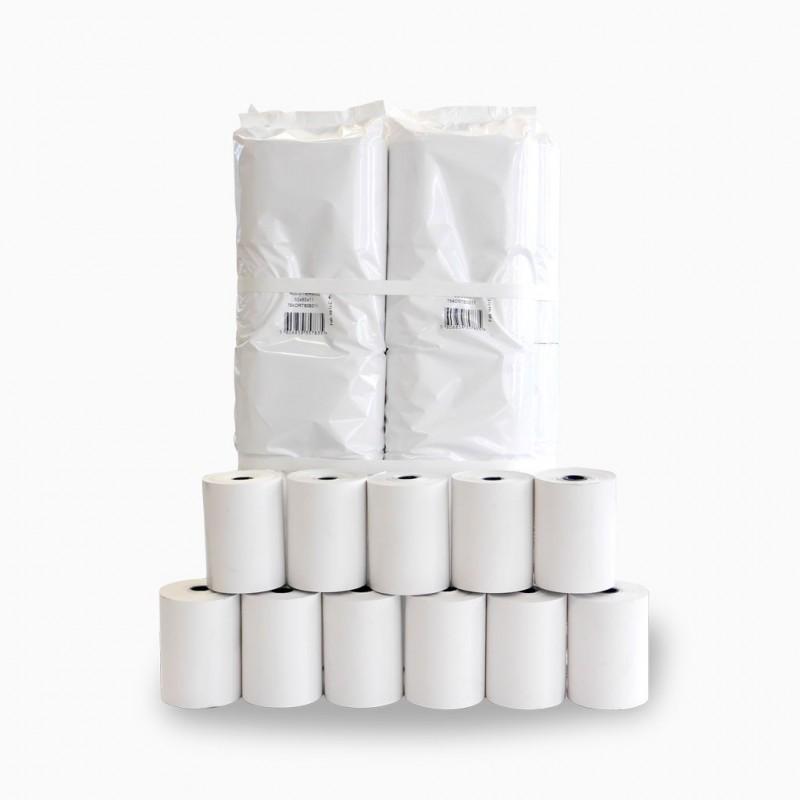 4office - 10 Rolos Papel Térmico 80x60x11 Pack