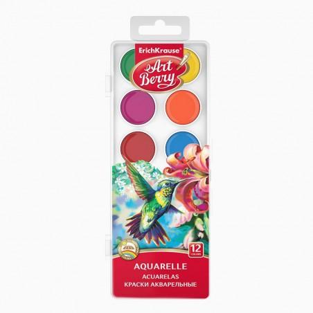 Erichkrause - Águarelas 12 cores (sortido) Art Berry