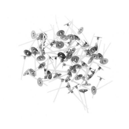 Pavios de Algodão SP60 (Pack 10uni) - Ruta de la Cera