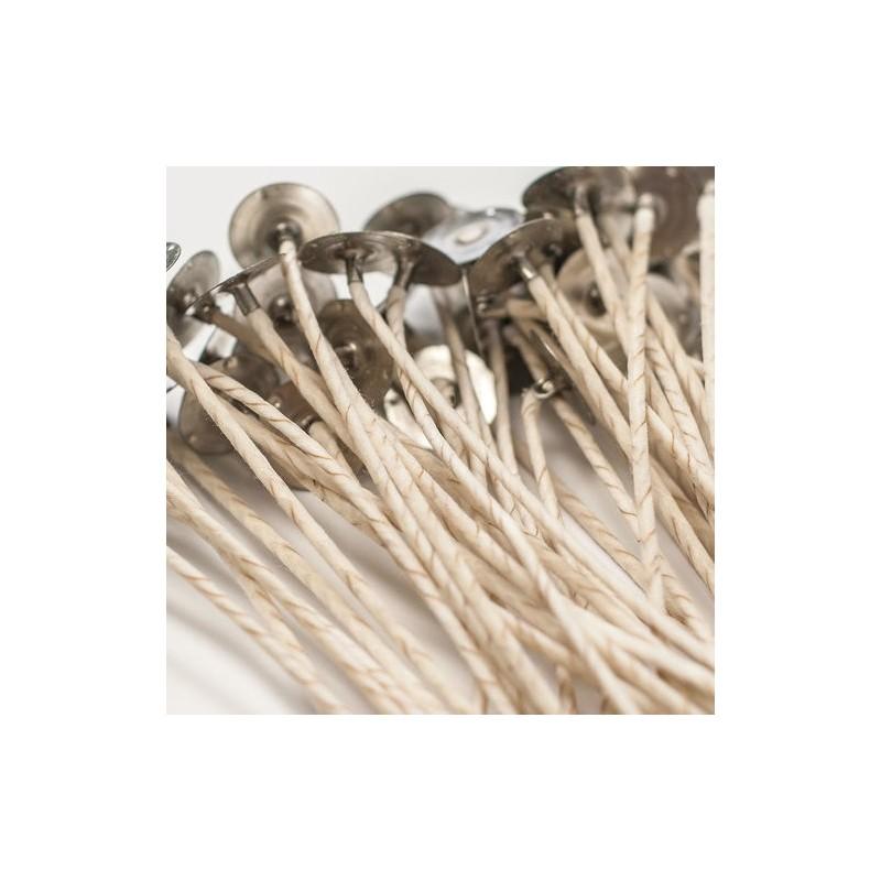 Pavios de Algodão/ Celulose AV40 (Pack 10uni) - Ruta de la Cera