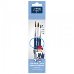 12 LOUVRE Acrylic Tubes 10ml - Lefranc & Bourgeois