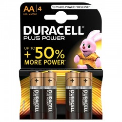 DURACELL Pack 4 AA 1.5V...