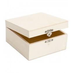 Cofre / caja de madera...